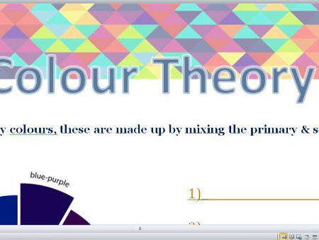 Colour Theory Worksheets Primary, Secondary & Tertiary Colours
