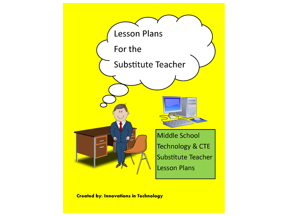 Lesson Plans for Your Substitute Teacher