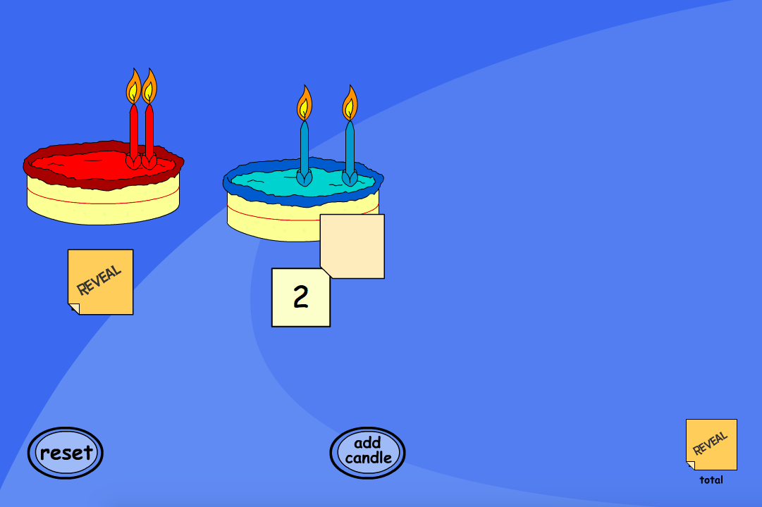 Counting Candles Interactive Game - KS1 Number