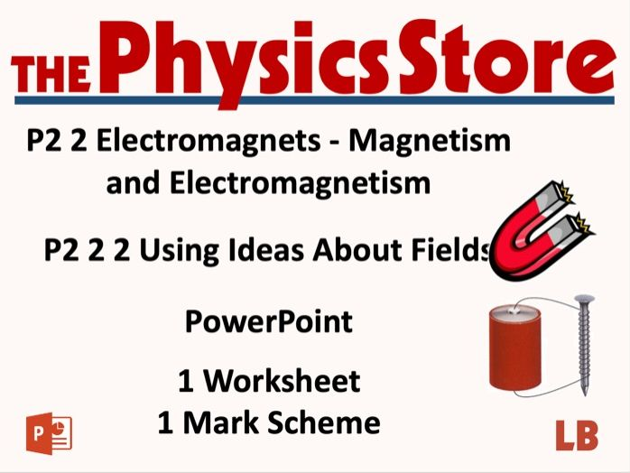 KS3 Physics AQA P2 2 2 Using Ideas About Fields Lesson Bundle