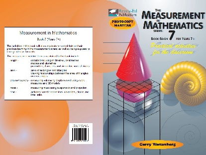 The Measurement in Mathematics Series: Book 7 - 11 Years +