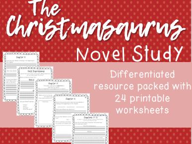 The Christmasaurus Novel Study