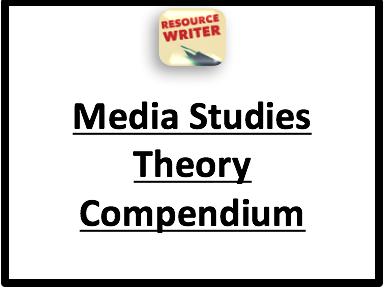 Media Studies Theory Compendium