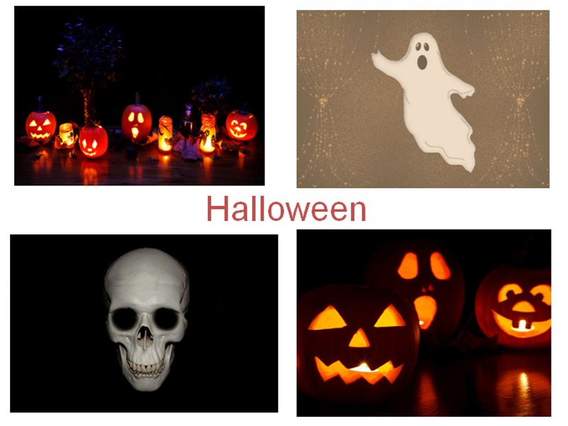 30 Halloween Photos PowerPoint Presentation + 31 Different Teaching Activities To Try in The Class