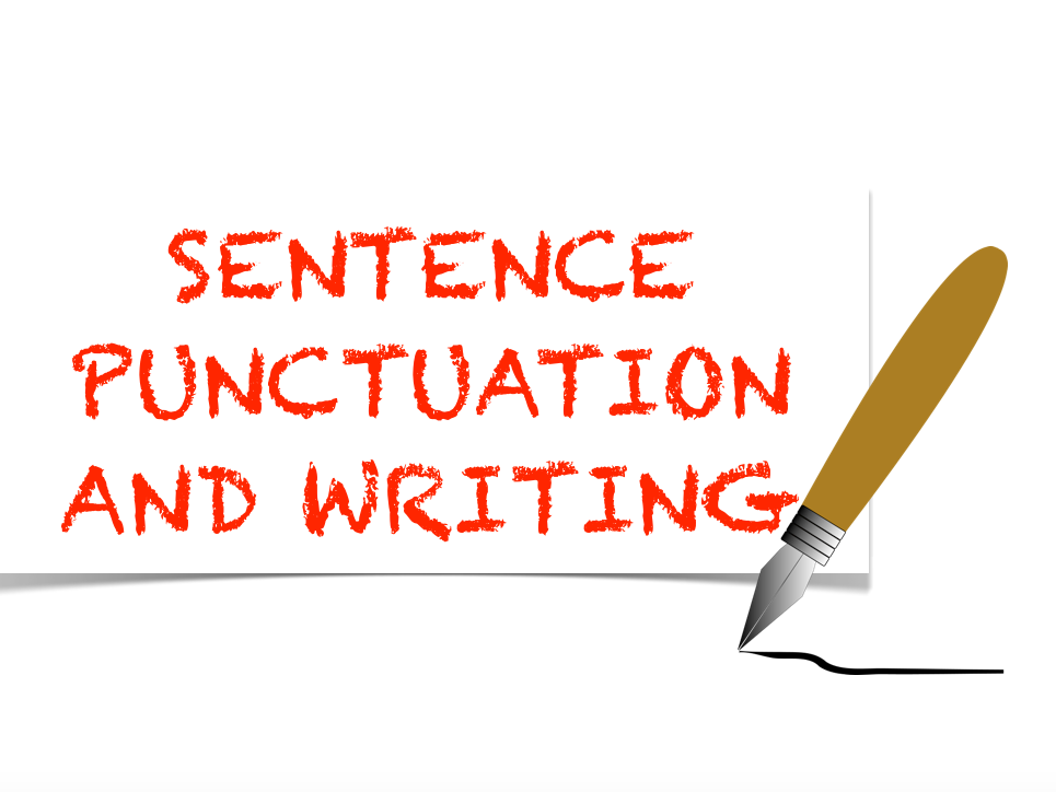 Sentence Punctuation and Writing Exercise. Lower KS2