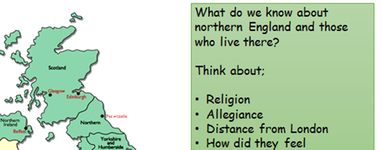 KS4 - Elizabeth and the Revolt of the Northern Earls