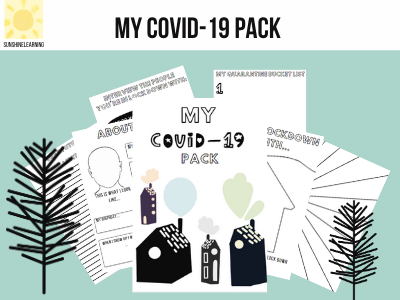 My COVID-19 activity pack