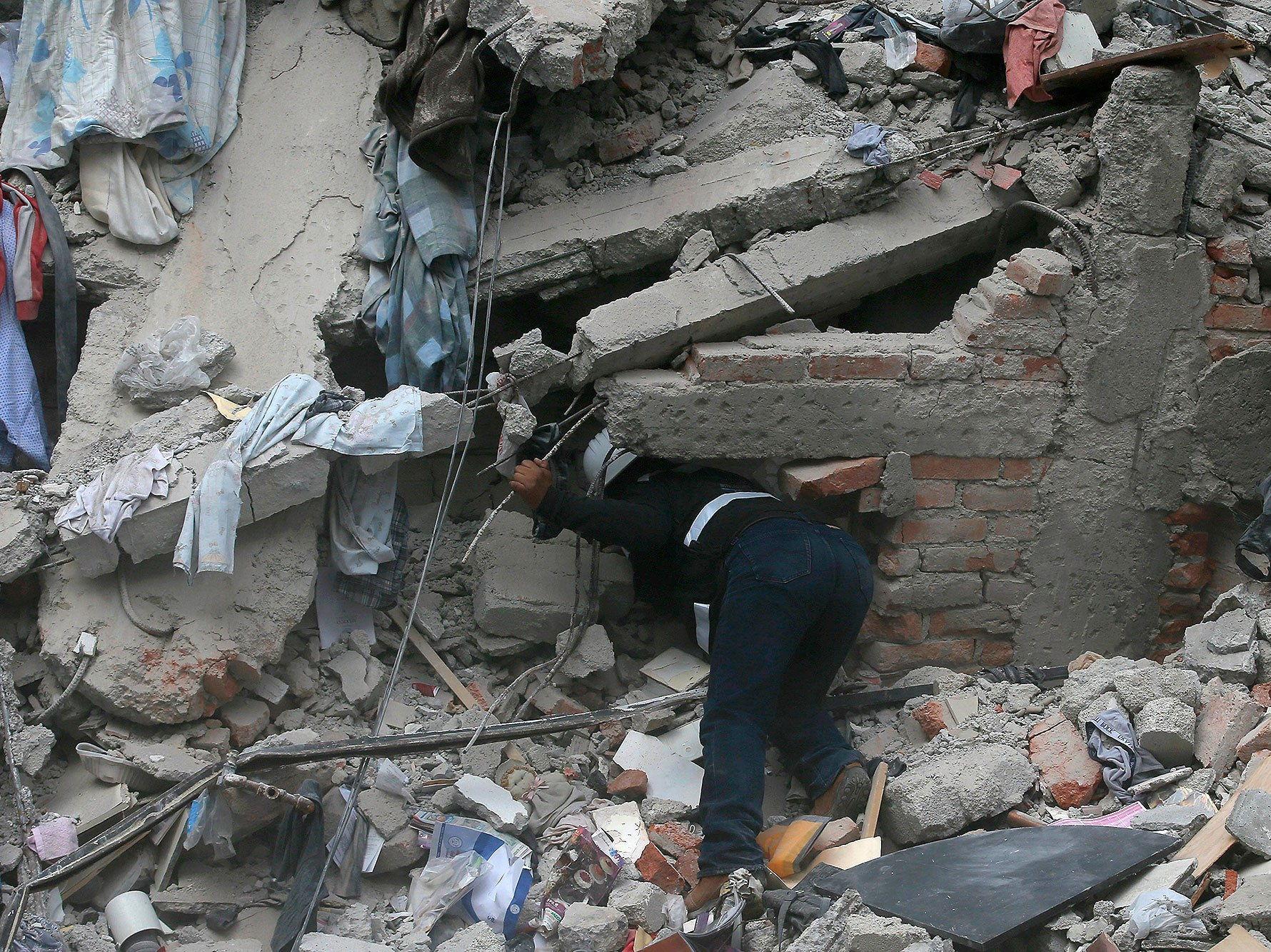 Mexico City Earthquake 2017