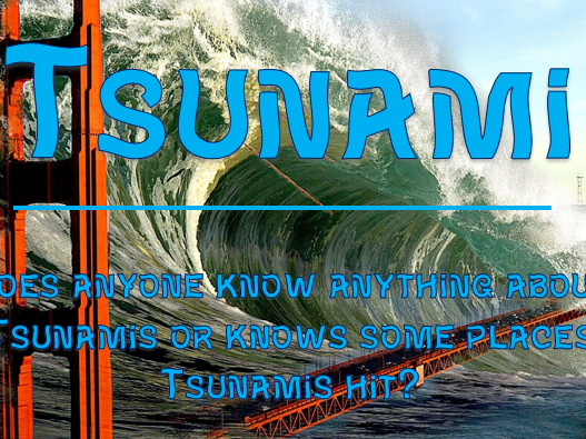 Extreme Weather #2 - Tsunami
