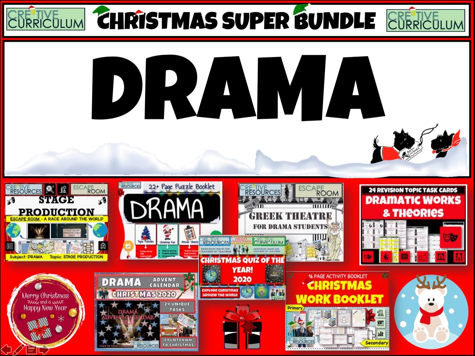 Drama Christmas Bundle