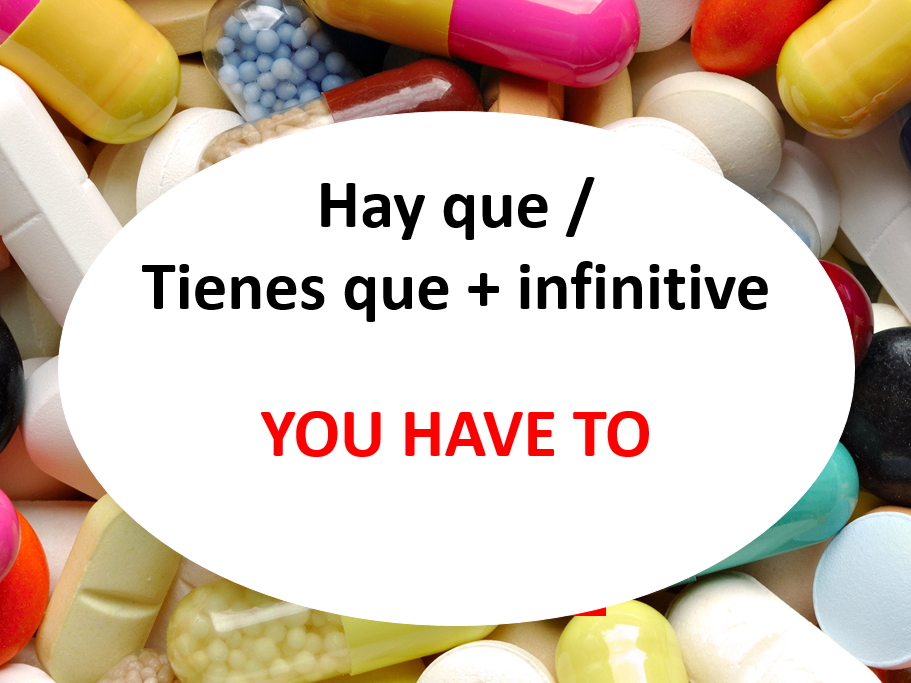 En la farmacia (Remedies, symptoms with activities)