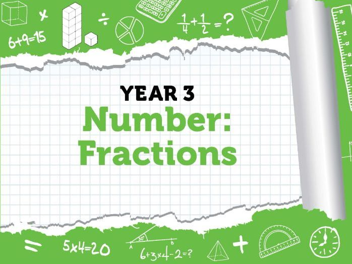 Year 3 - Number- Fractions - Week 2 - Summer - Block 1 - White Rose