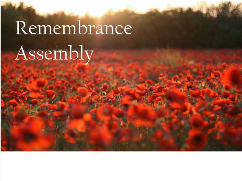 Remembrance Assembly Bundle