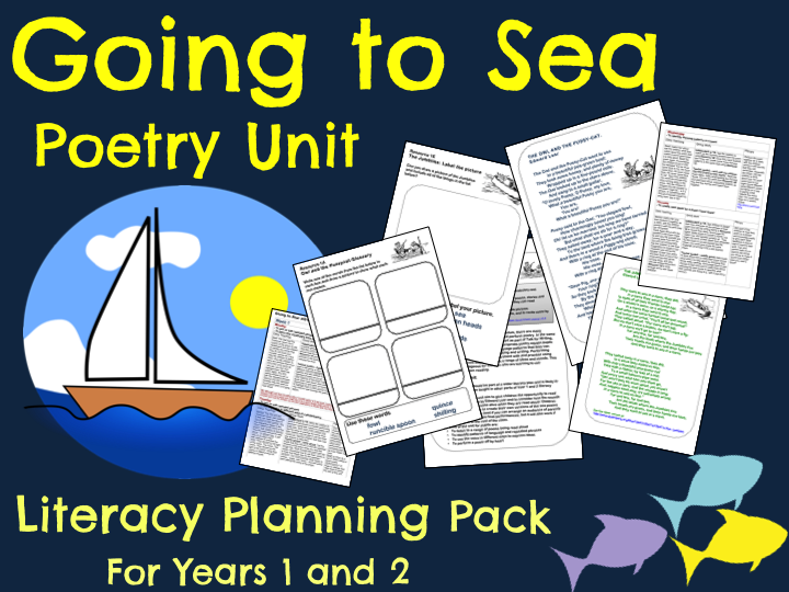 'Going to Sea' Poetry - Literacy Planning Pack  (Seaside/Under the Sea Topic)