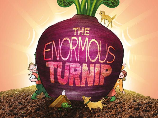 The Enormous Turnip- Describing a New Vegetable