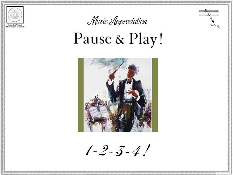 Music Appreciation: Pause & Play '1-2-3-4!'