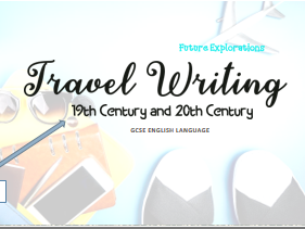 Travel Writing Scheme