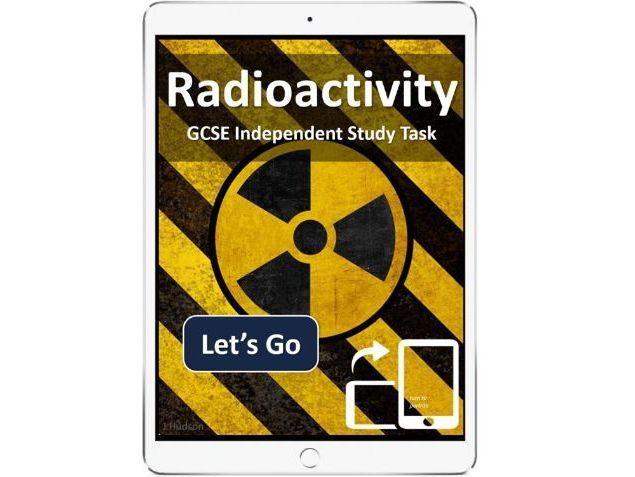 Radioactivity GCSE AQA - interactive eBook independent study