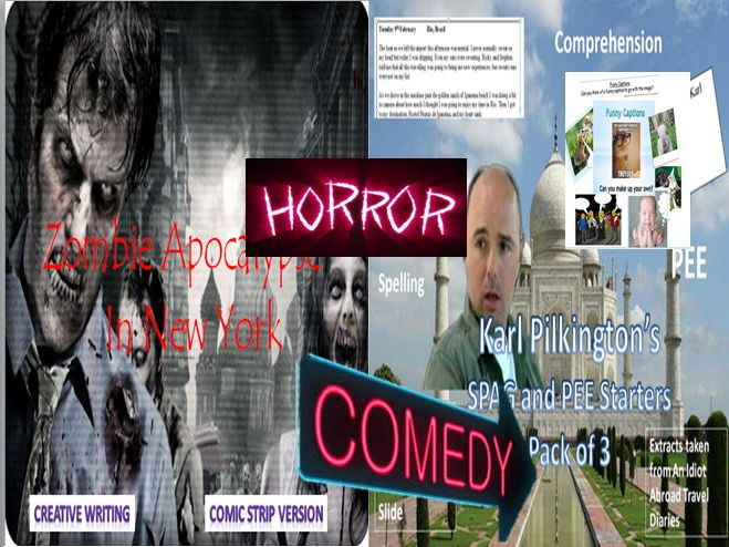 The Horror and Comedy Mini Bundle 4
