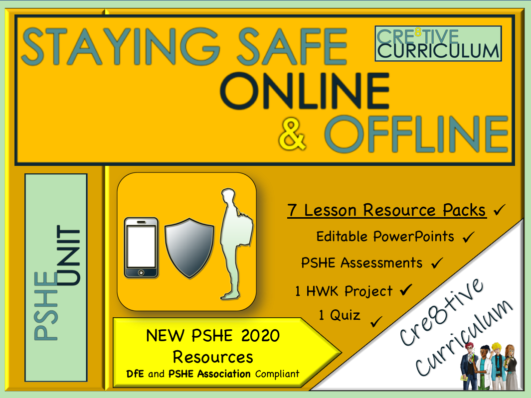 Staying Safe Online and Offline PSHE Unit
