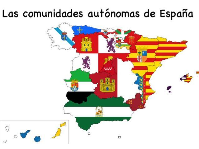 Spanish Regions booklet (Autonomous Communities)