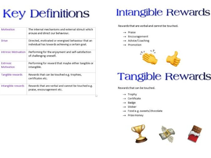 Motivation Booklet AS PE psychology for OCR