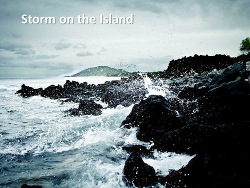 Storm On The Island - by Seamus Heaney (Video text with analysis)