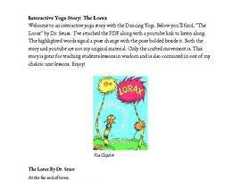 Interactive Yoga Story: The Lorax