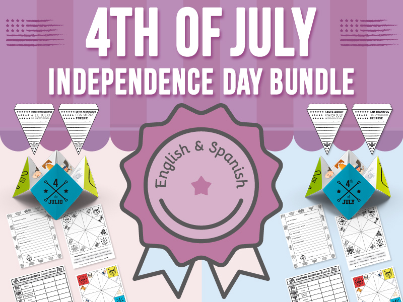 4th of July - Independence Day Activities BUNDLE