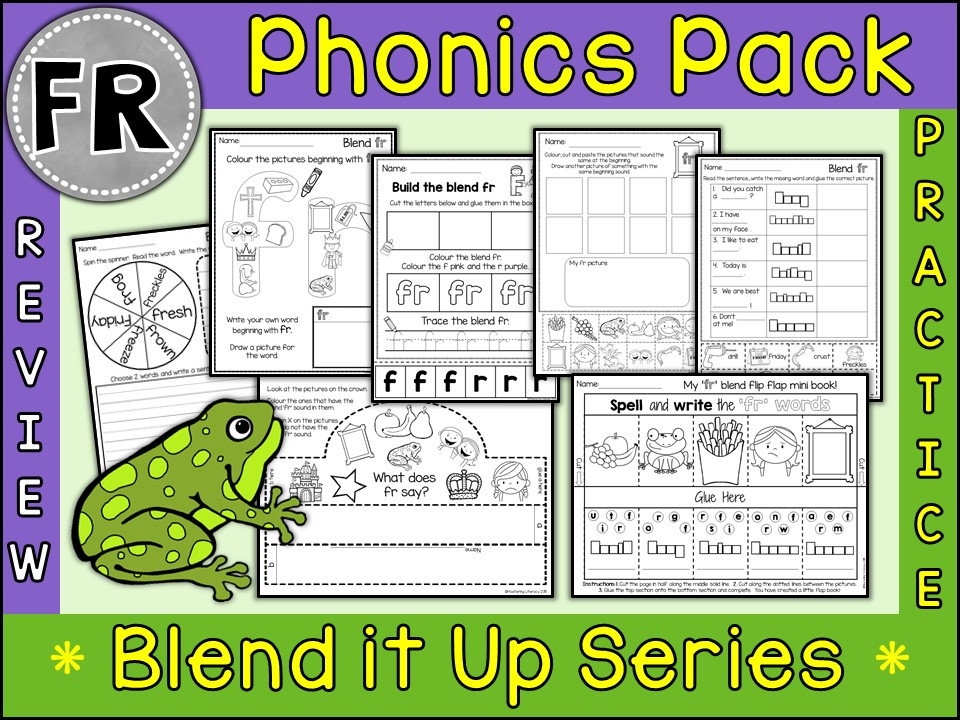 Phonics: Phonics Blend FR
