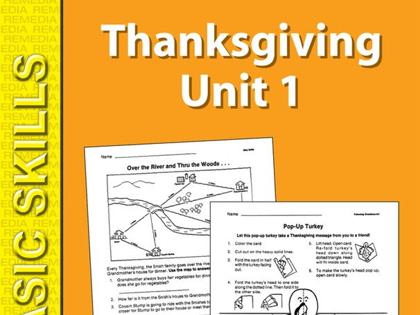 Thanksgiving Unit 1