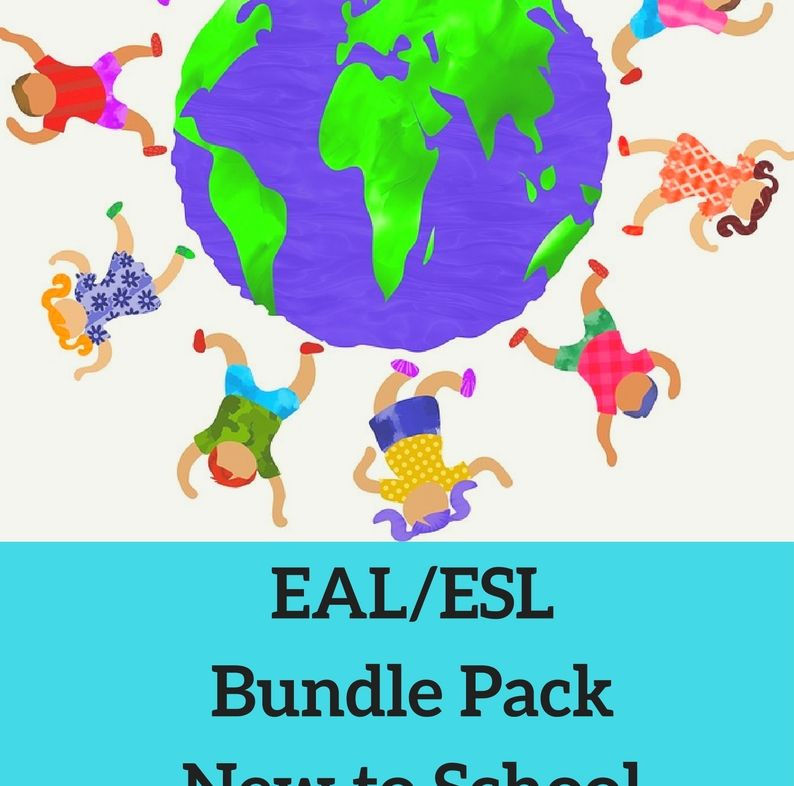 EAL/ESL - New to school, worksheets, language and literacy