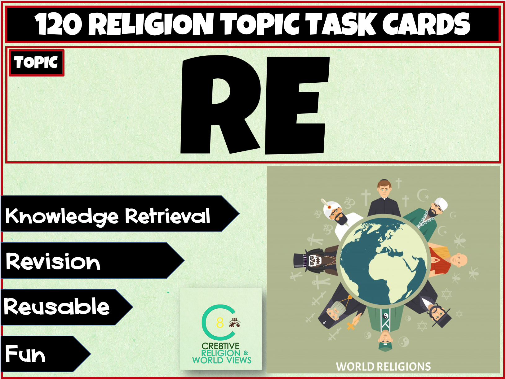 Re Task Cards