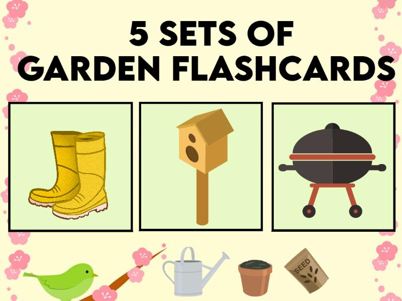Garden Flashcards