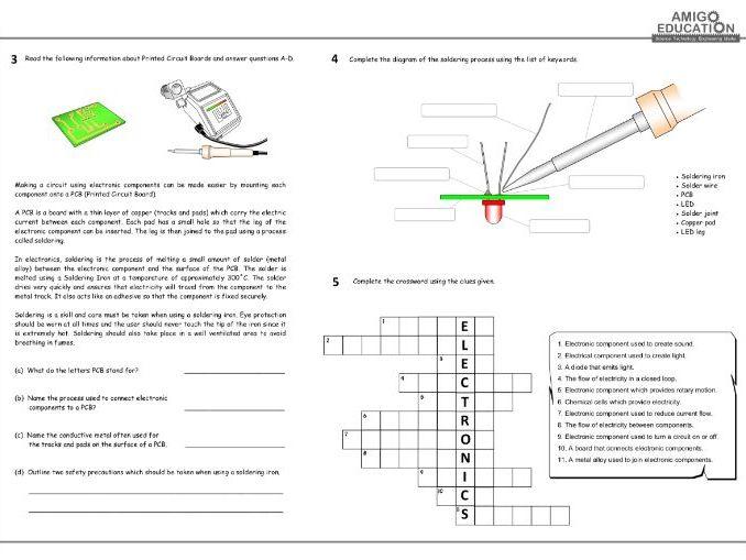 Electronic Circuits Worksheet