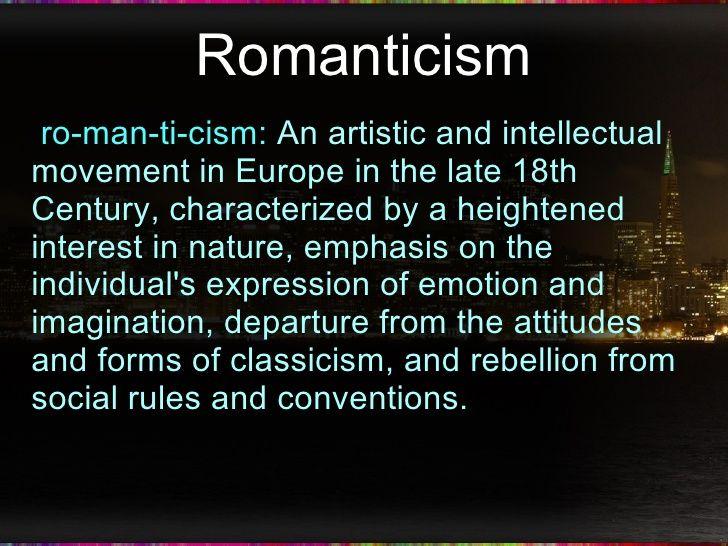 Romantics Poetry SOW
