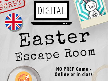 EASTER Escape Room - Digital English language activities and puzzles