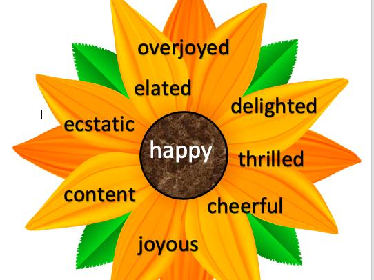 Grow your vocabulary synonym flowers