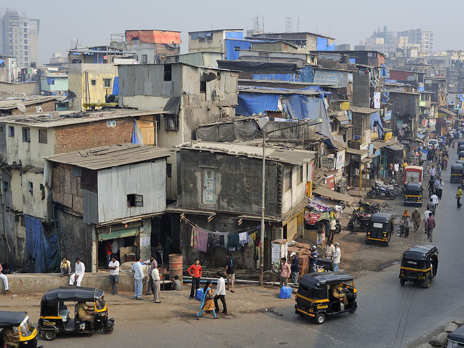 Living Conditions in Dharavi Slum India