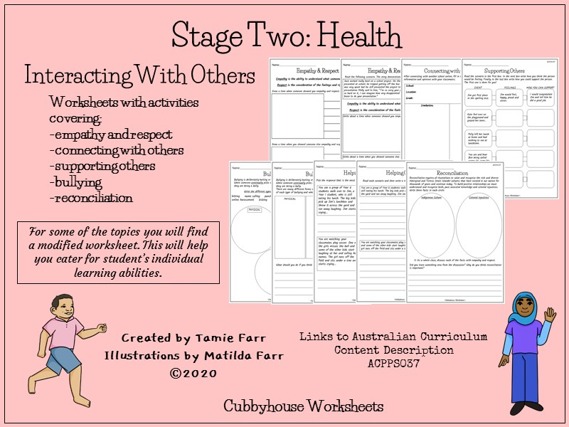 Stage 2 Health: Interacting with Others