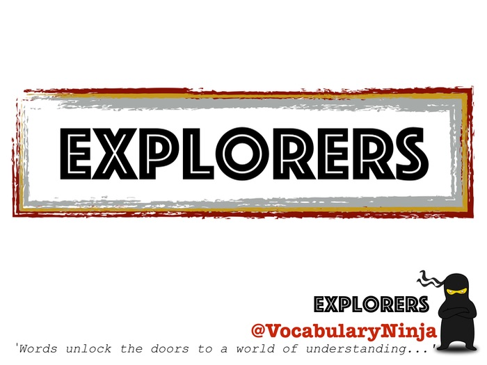 Explorers Topic Vocabulary Pack