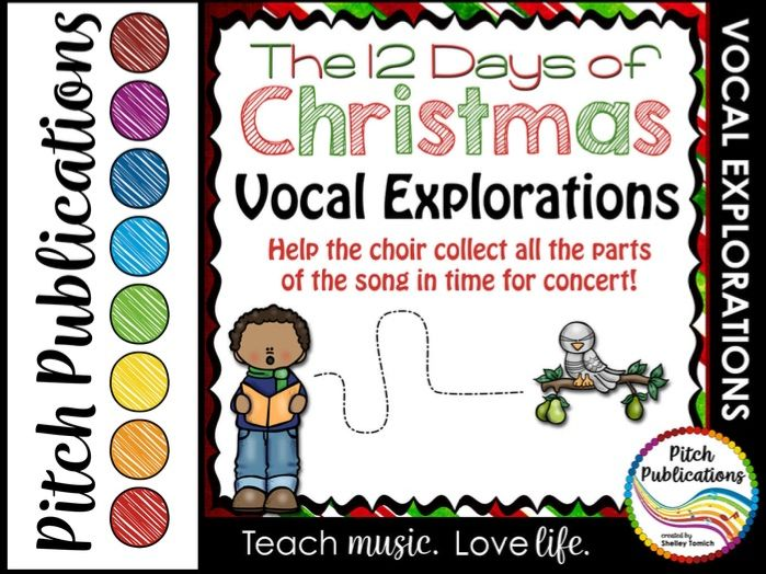 Vocal Explorations - The 12 Days of Christmas  - Create + Compose Your Own