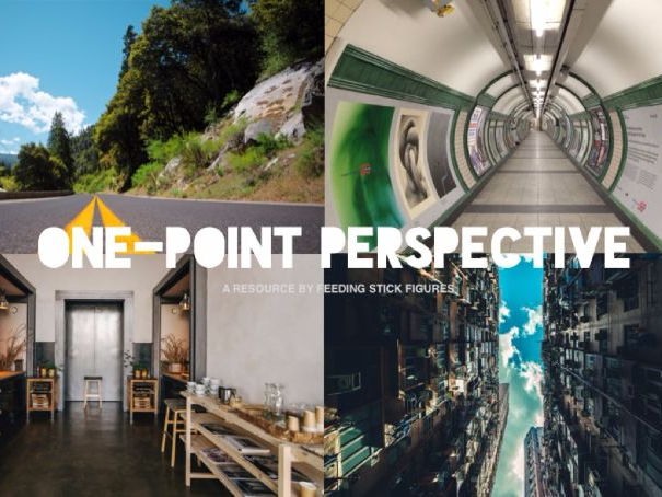One-Point Perspective Drawing Reference Photos