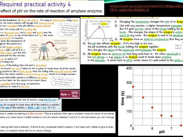 AQA TRILOGY COMBINED SCIENCE BIOLOGY REQUIRED PRACTICAL SUMMARIES