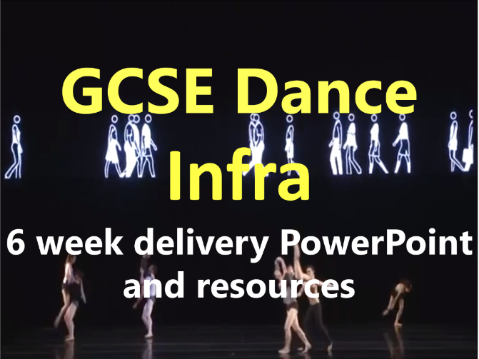 KS4 GCSE Dance: Infra 6 Week delivery PowerPoint and Resources