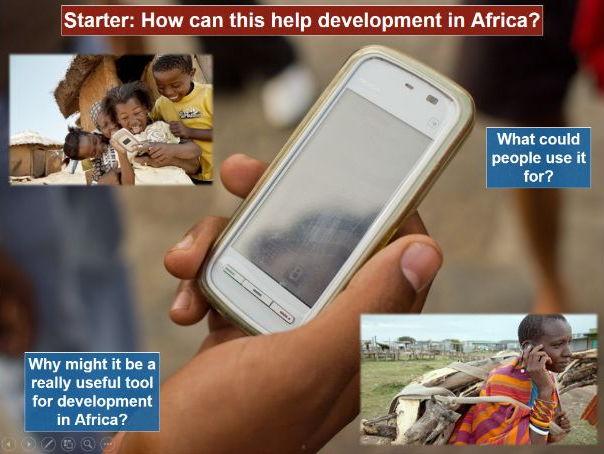 Africa SOW Lesson Twelve: Mobile Phones in Africa