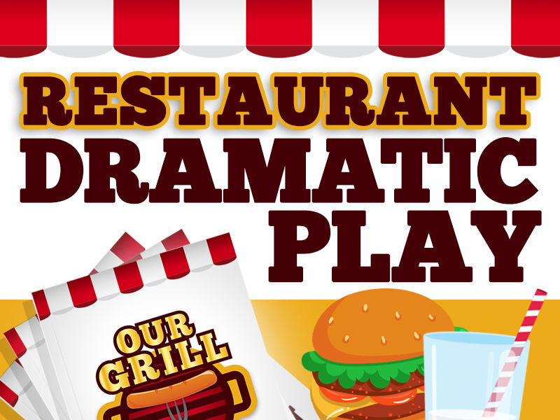 Dramatic Play Restaurant - Preschool and Kindergarten