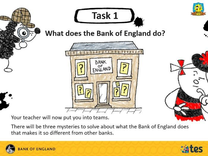 Lesson 6 Money and me - The Bank of England (English curriculum)
