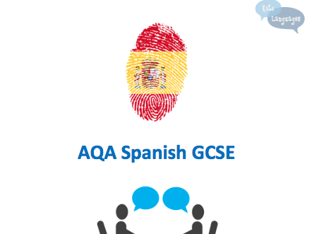 AQA Spanish GCSE Speaking Workbook - Photo cards