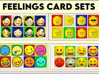 Feelings Picture Card Sets